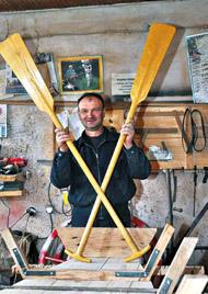 ZANATSKA RADNjA RANG: Izradio oko hiljadu čamaca